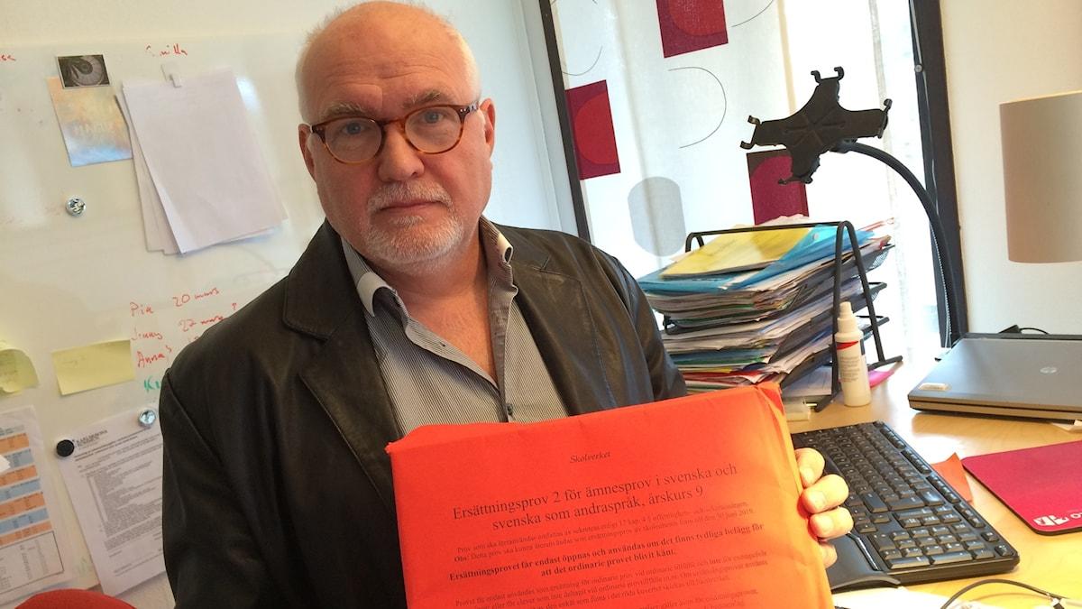 Berndt Dabergott med reservprovet