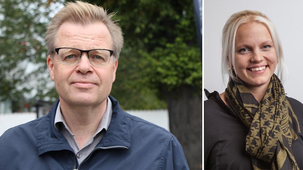 Per-Ola Mattsson och Emilie Pilthammar.
