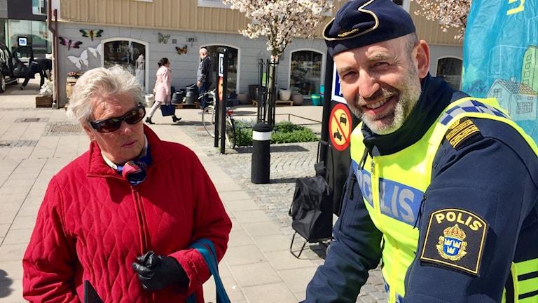 Kommunpolis Anders Wiklander.
