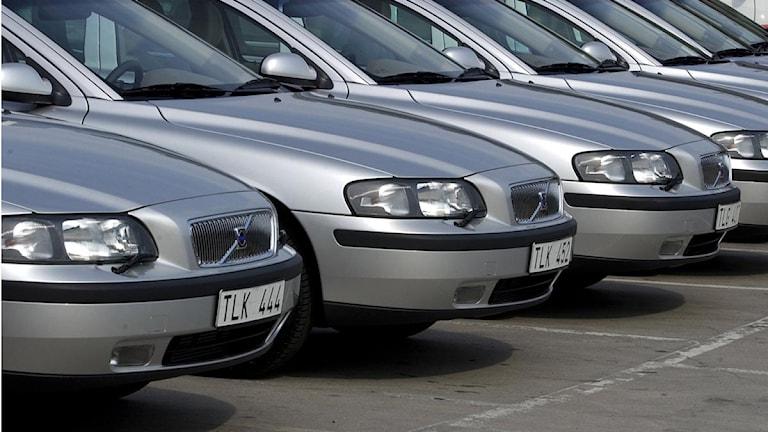 Hälften av de nyregistrerade bilarna var miljöbilar.