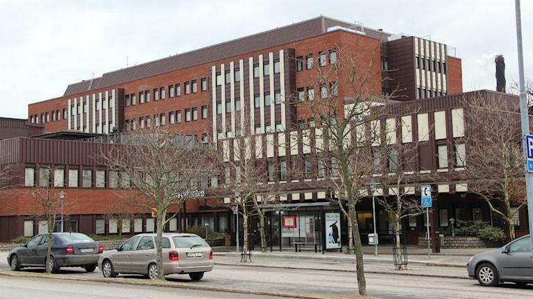 Blekingesjukhuset i Karlskrona. Foto: Mikael Eriksson/SR.