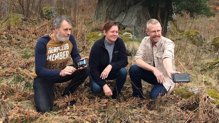 Anders Lindoff, Åsa Hagelberg och Mikael Gustafsson, Naturskyddsföreningen Olofström