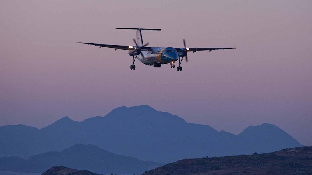 Åter igen ska Kustbevakningens flyg bevaka vattnen utanför Italiens kust.