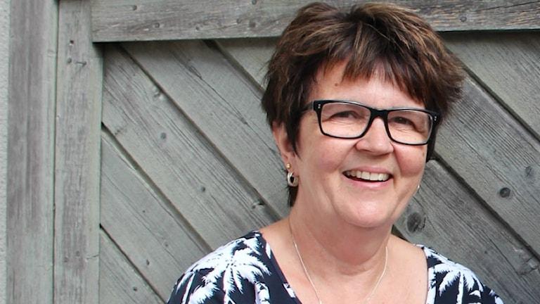 En porträttbild på Eva Dahlberg som som är folkhälsostrateg vid Karlskrona Kommun.