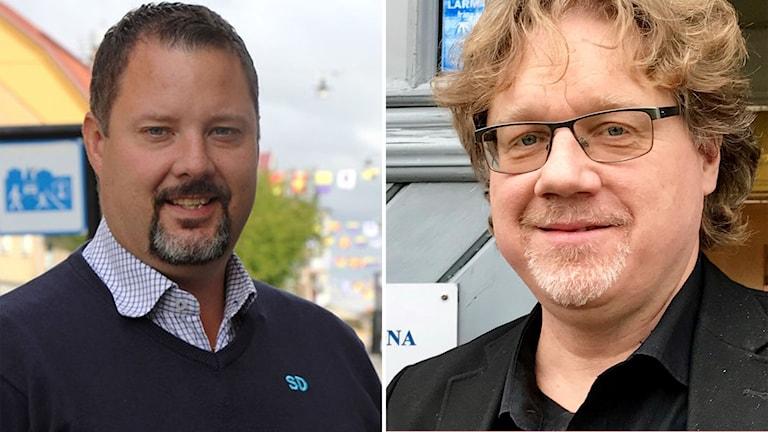 Christopher Larsson (SD) kritiserar Magnus Larsson (C)