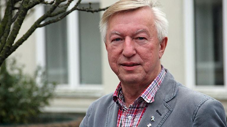 Kent Lewén ordförande i prostatacancerföreningen Victor. Foto: Helena Gustafsson/Sveriges Radio