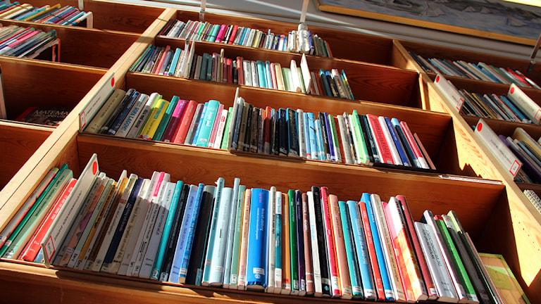 biblioteksböcker