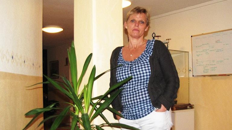 Ingrid Hermansson från centerpartiet