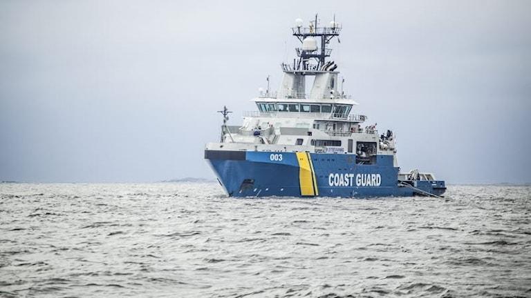 Kustbevakningens fartyg Amfitrite