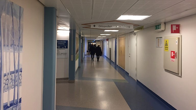 Korridor Blekingesjukhuset Karlshamn
