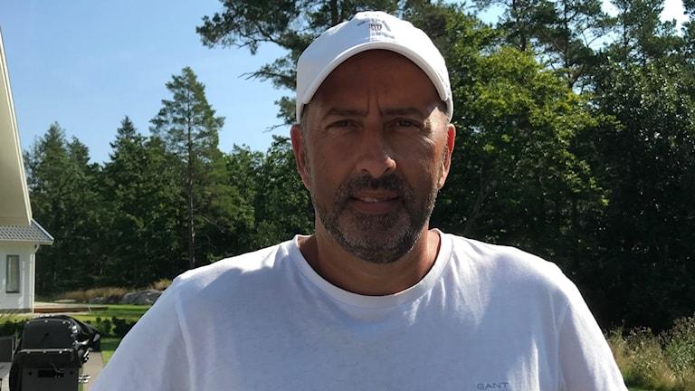Peter Matsson, ordförande i Saxemara IF
