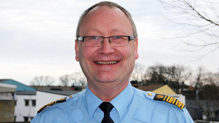 Anders Kjaersgaard, länspolismästare. Foto: Stina Linde/Sveriges Radio.
