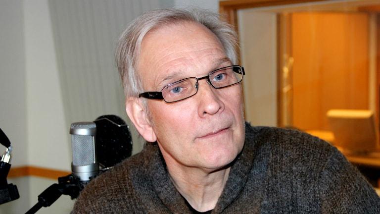 Nye tränaren för Hästö IF Ulf Schefvert. Foto: Joacim Müllo/Sveriges Radio