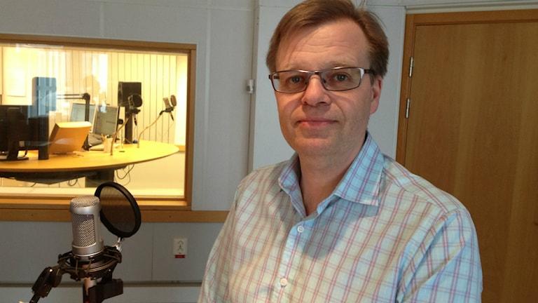 Kommunalråd Per-Ola Matsson (S). Foto: Patrik Franke/Sveriges Radio Blekinge.