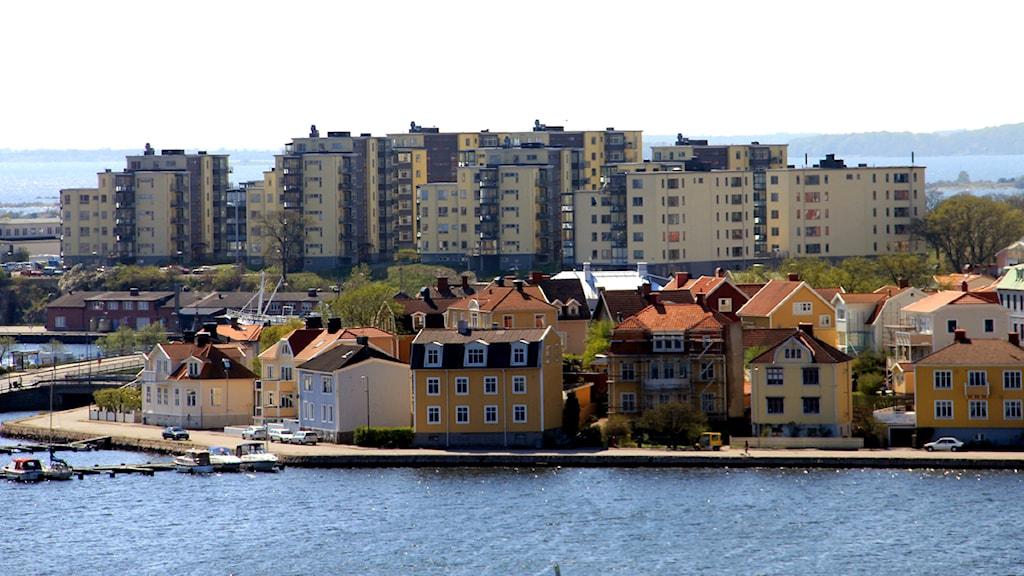 Området Saltöhem på Saltö. Foto: Stina Linde/Sveriges Radio.