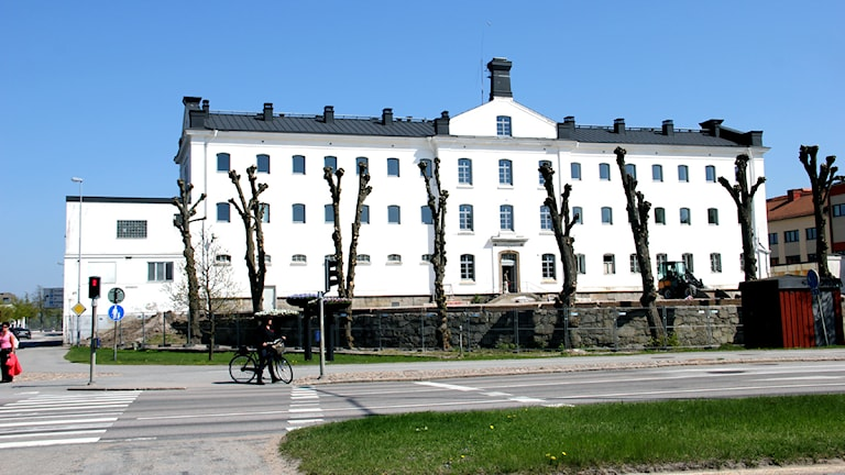 Gamla fängelsebyggnaden. Foto: Stina Linde/Sveriges Radio.