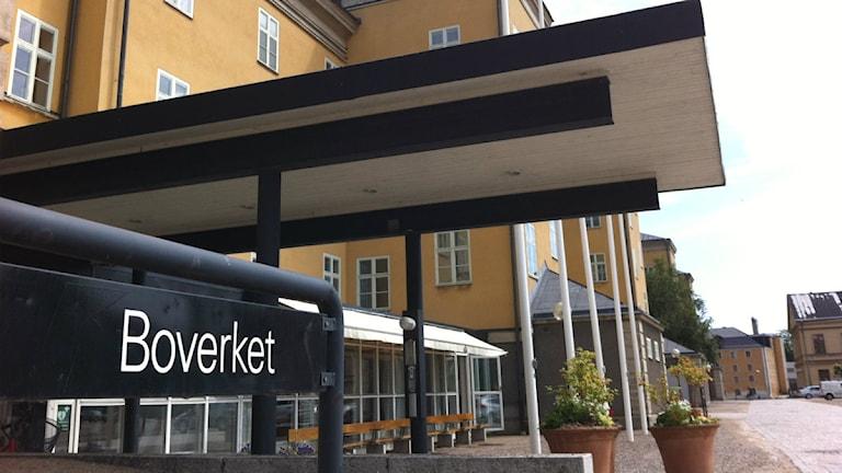 Boverket entré. Foto: Mikael Eriksson/Sveriges Radio.
