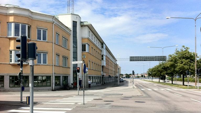 Polishuset i Karlskrona. Foto: Mikael Eriksson/Sveriges Radio.