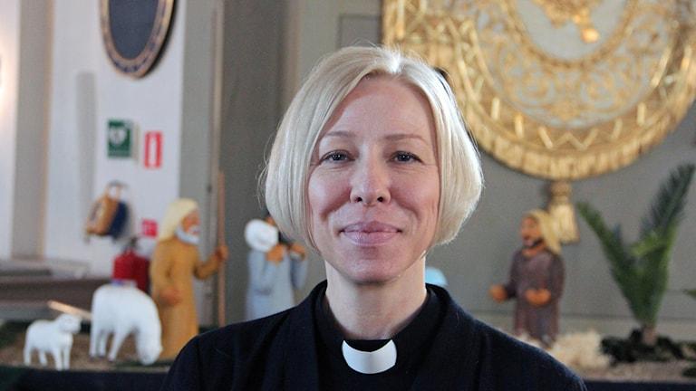 Pamela Garpefors utlovar julfirande för Karlskronas ensamma och utsatta.