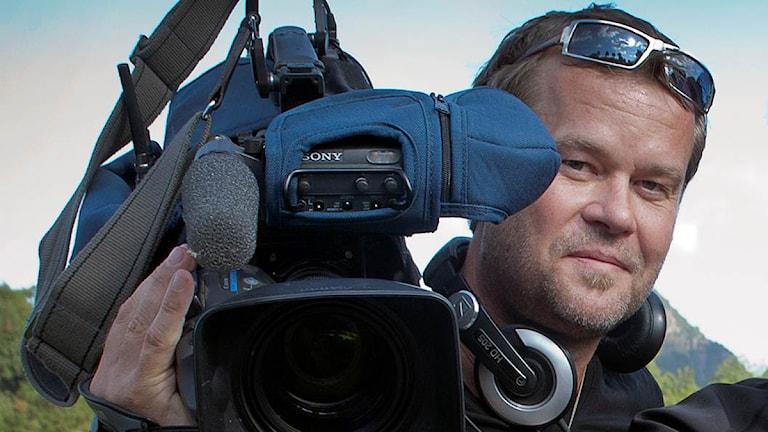 Per Anders Rudelius, dokumentärfilmare. Foto: Privat.