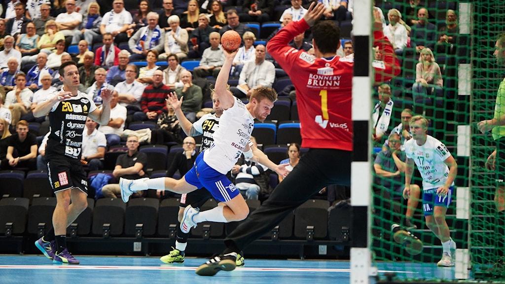 HIF Karlskrona gick poänglösa hem från mötet med Ystads IF HF. Slutsiffrorna skrevs till 31-25.