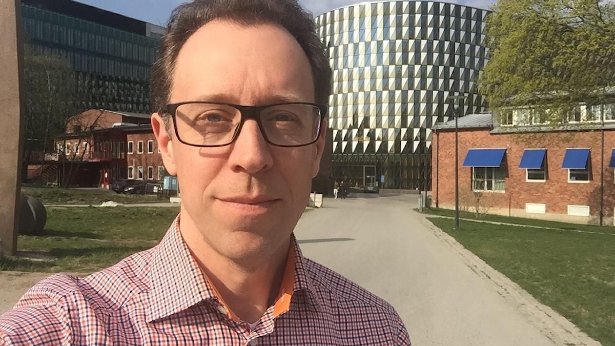 Mattias Öberg, docent i toxikologi vid Karolinska institutet.