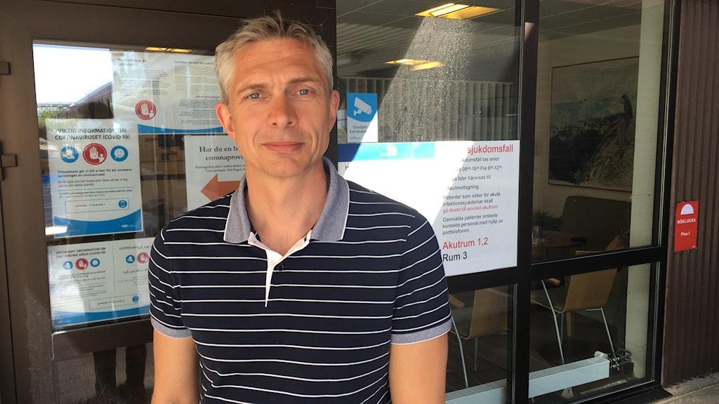 Olof Blivik Biträdande smittskyddsläkare