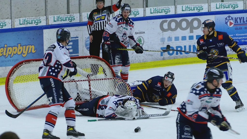 Mörrumsmålvakten Didrik Jansson lyckades hålla nollan när Mörrum vann mot Visby/Roma under lördagsskvällen.