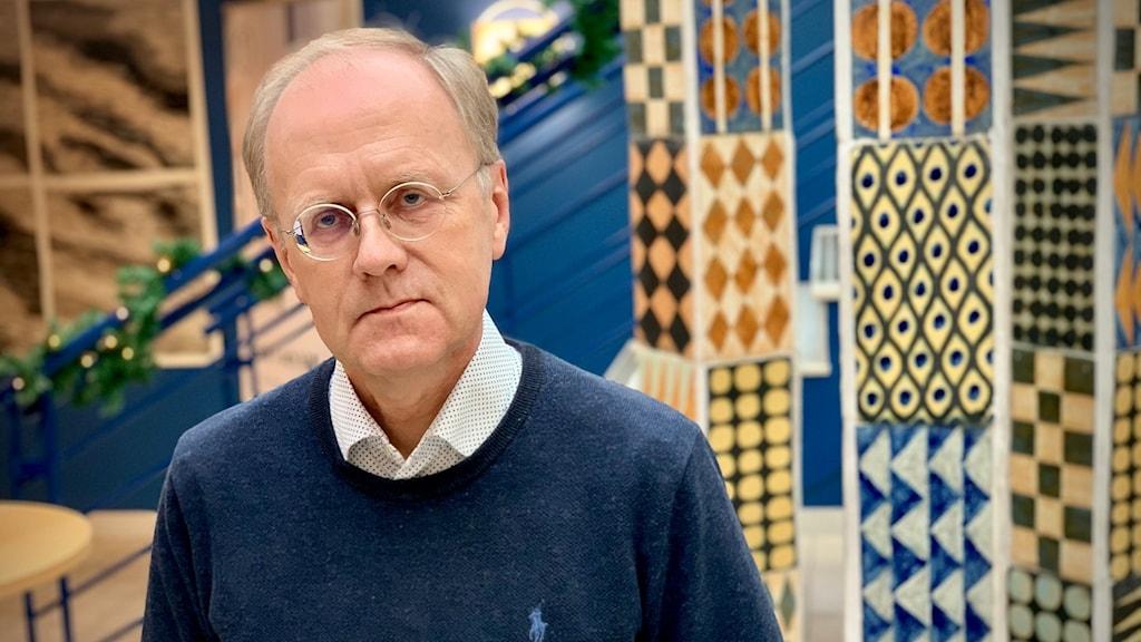 En porträttbild på Bengt Wittesjö, smittskyddsläkare i Blekinge.