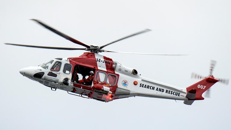 Sjöfartsverkets räddningshelikopter