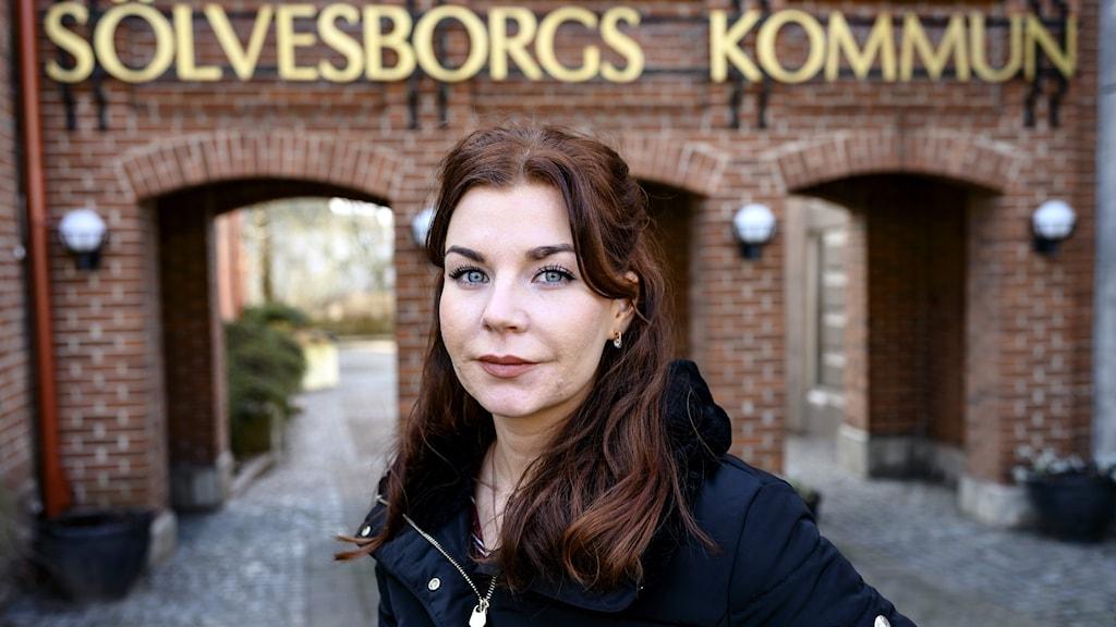 Louise Erixon(SD) kommunalråd i Sölvesborg.