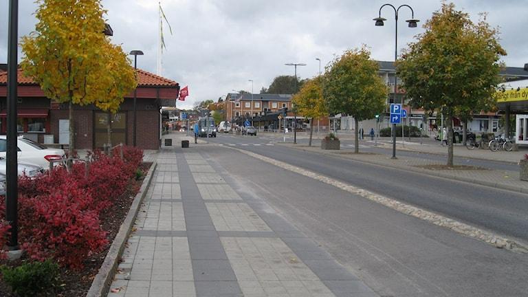 Olofström. Foto:Ingrid Elfstråhle/Sveriges Radio