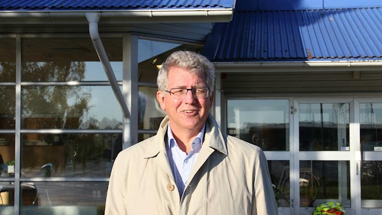 Mats Olsson VD Karlshamn Hamn AB Kombiterminal