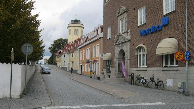 Karlshamnsvy. Foto:Ingrid Elfstråhle/Sveriges Radio