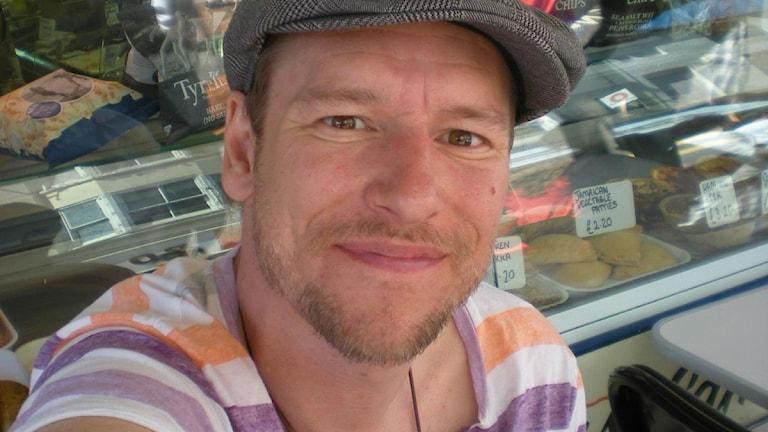 Andreas Hasselberg, författare. Foto: Privat.