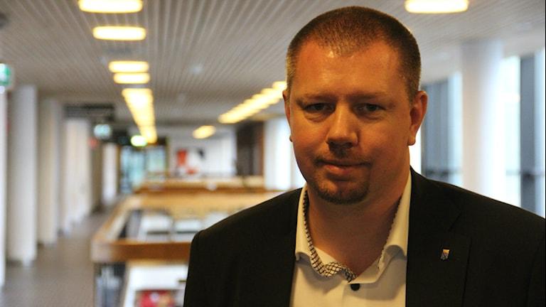 Kommunalrådet Roger Fredriksson. Foto: Mikael Eriksson/Sveriges Radio.