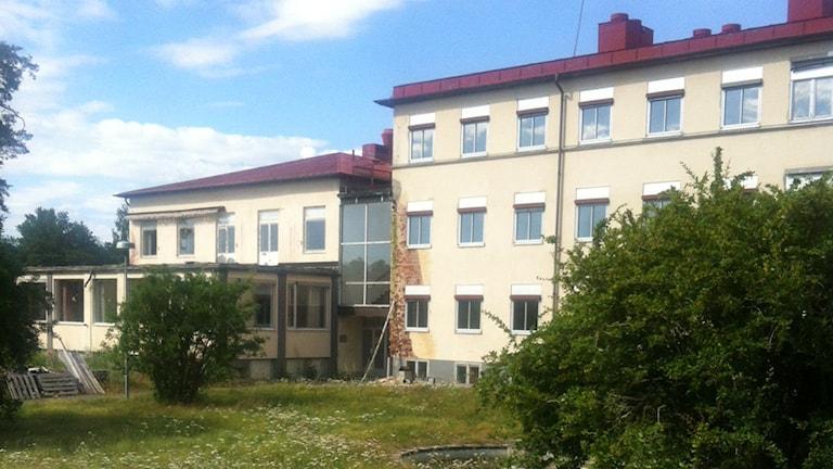 Sjukhuset i Fur. Foto:Ingrid Elfstråhle/Sveriges Radio
