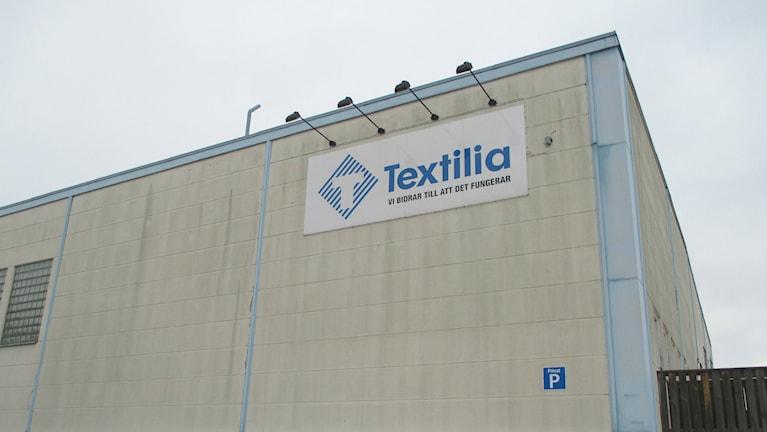 Textilias fasad. Foto: Martin Alvebro.
