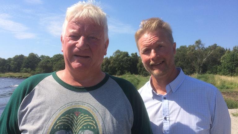 Kjell Persson och Magnus Bromee