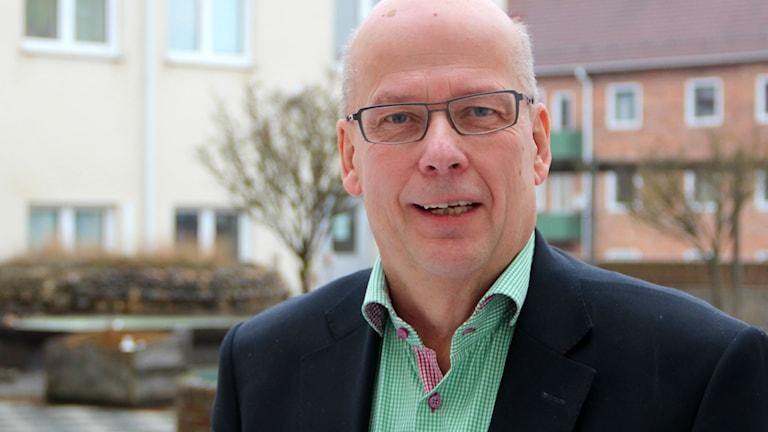 Länsidrottschef Örjan Nilsson. Foto: Helena Gustafsson/Sveriges Radio.