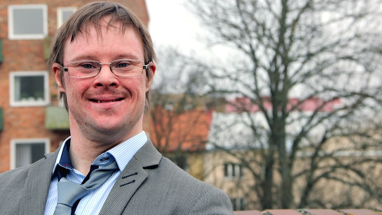 En porträttbild av P4 Blekinges bloggare Henrik Daleke. Foto: Stina Linde/Sveriges Radio
