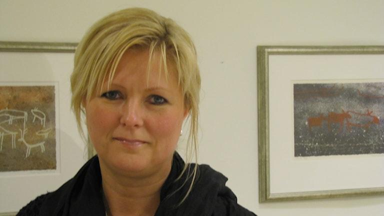 Annika Christensson är miljöchef på landstinget Blekinge. Foto: Carina Melin