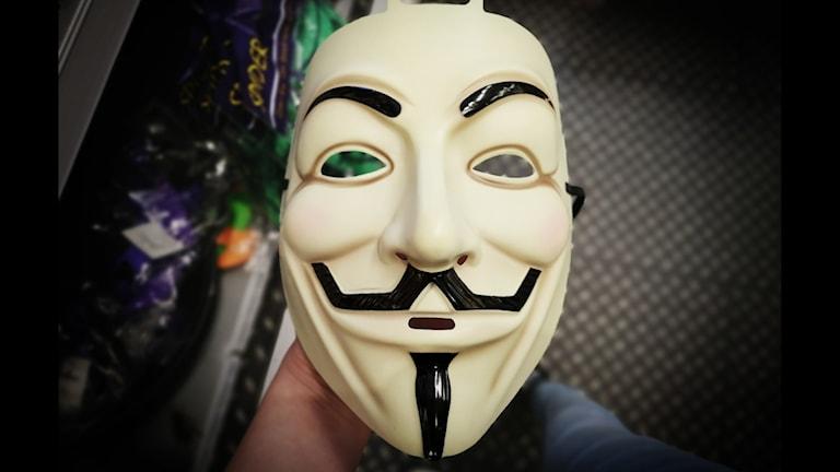 V för vendetta mask anonymous