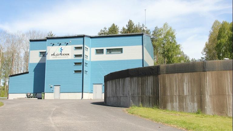 Brantafors vattenverk i Kallinge. Foto: Mikael Eriksson/Sveriges Radio.
