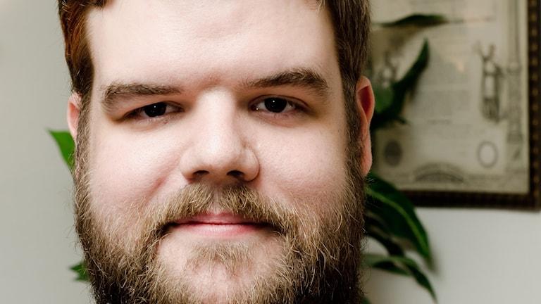 En porträttbild av bloggaren Niklas Christersen. Foto: Per Enström