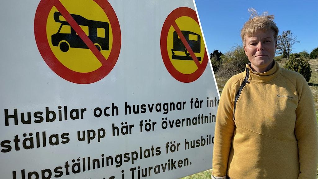 Katrine Svensson, naturvårdsförvaltare på Länsstyrelsen Blekinge.