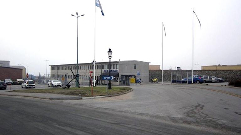 Kockums i Karlskrona. Foto: Carina Melin/Sveriges Radio