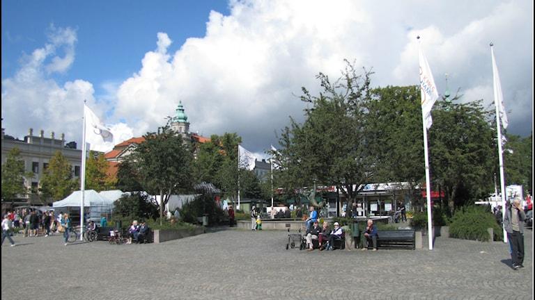 Stortorget i Karlshamn