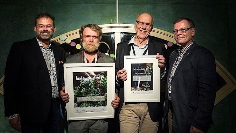 Tomas Kruth – Fastighetsägarna, Glenn Fridh – vinnare, Ingemar Olofsson – vinnare, samt Magnus Nordgren – Jordbruksverket.