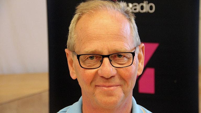 Jeppe Johnsson från Moderaterna i Sölvesborg. Foto: Åsa Holst/Sveriges Radio